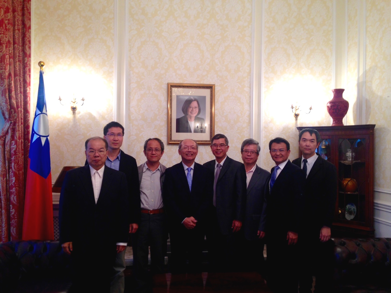 Taiwan Energy Science Specialists visit UK