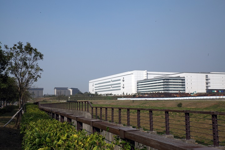 The AU Optronics plant in Houli Park