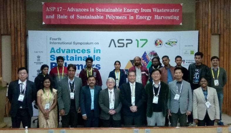 ASP 17-Advances in Sustainable Energy from Wastewater and Role of Sustainable Polymers in Energy Harvesting研討會與會人員合照。